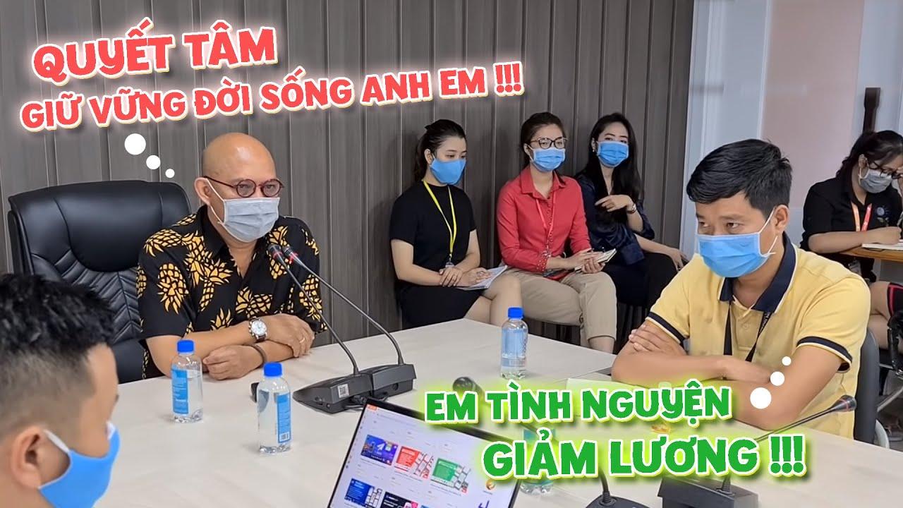 COLOR MAN quá xúc động khi Khương Dừa và hàng loạt nhân sự xin giảm lương chia sẻ cùng công ty !!!