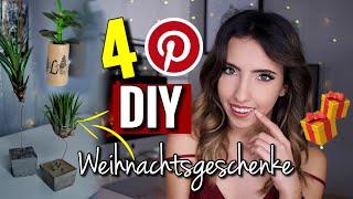 4 Einfache Pinterest DIY Weihnachtsgeschenke | Beton Tillandsien Deko, Granola uvm | Last Minute