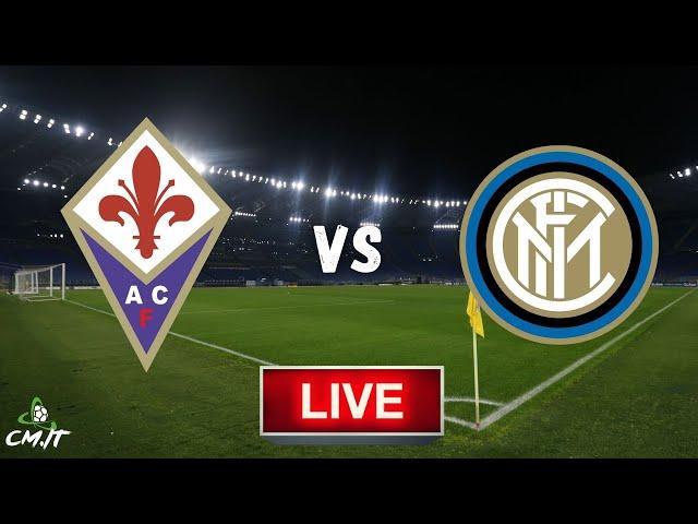 🔴Fiorentina-Inter LIVE! Cronaca in DIRETTA e commento [NO Streaming]