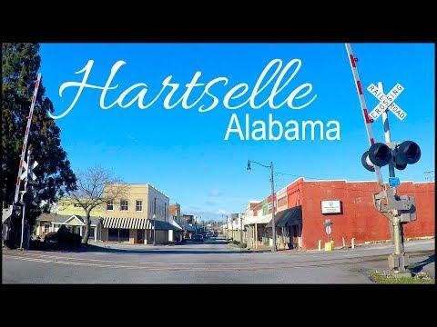Hartselle Alabama Downtown Drive