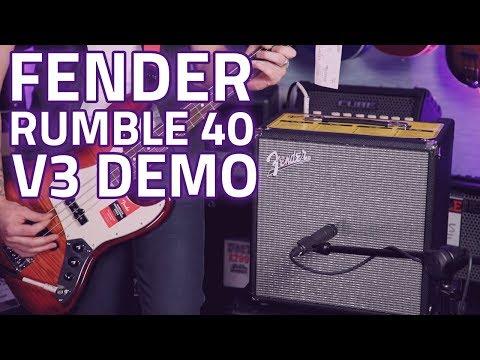 Fender Rumble 40 V3 Bass Guitar Combo Review - Huge Fender Sound, Portable Package