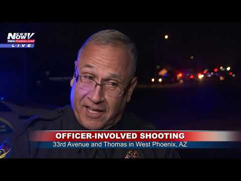 OFFICER-INVOLVED SHOOTING: Phoenix Police Say Suspect is in
