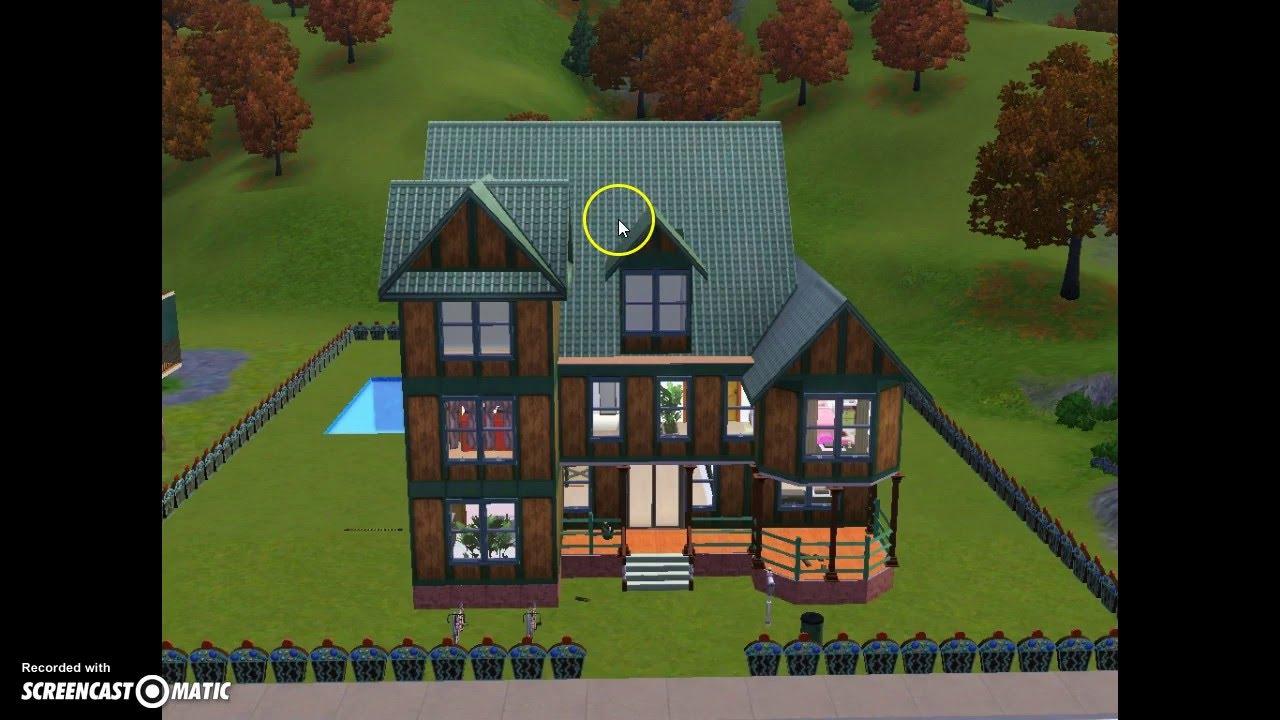 construire maison victorienne sims 3 avie home. Black Bedroom Furniture Sets. Home Design Ideas