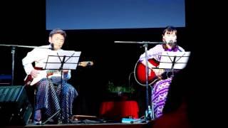 ミャンマー祭り2016 ヤンゴンステージ ミッターファンデーションによる...