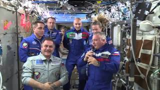 Expedition 36 Hands of the Space Station to Expedition 37