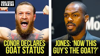 UFC Pros react to Conor's Top 4 MMA GOAT's list, Jones responds to Conor, Colby on Jorge, MMA News