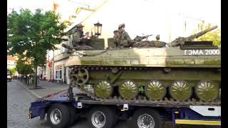 Konwój pojazdów militarnych - Gniezno.com.pl 17 maj 2014