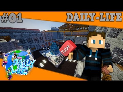 Dansk Minecraft - Daily-Life #1 - JEG ER EN YOUTUBER!
