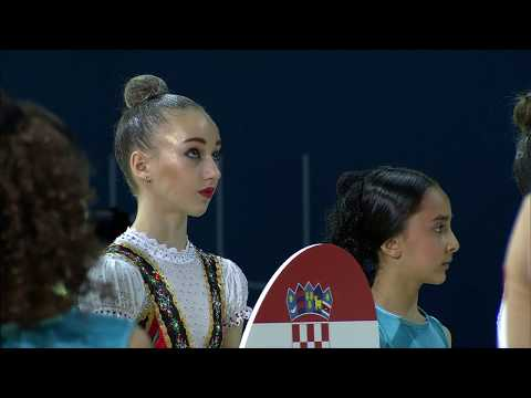 Opening Ceremony of 30th Rhythmic Gymnastics European Championships
