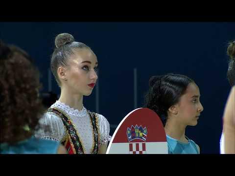 Opening Ceremony Of 30th Rhythmic Gymnastics European Championships