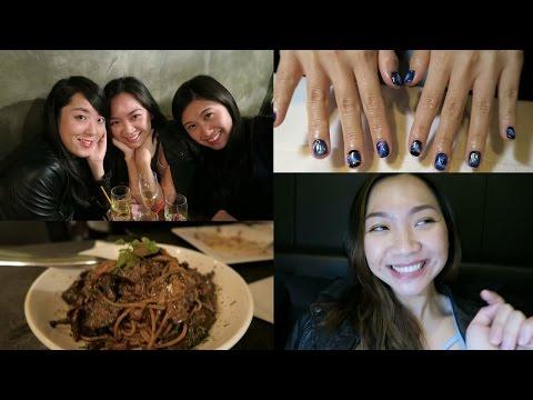 OOTD, new nails & girls dinner | Eli Vlogs