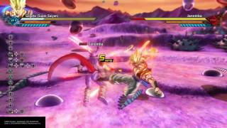 super gogeta full ultimate attack soul punisher