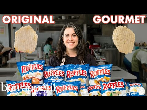 Pastry Chef Attempts to Make Gourmet Ruffles | Gourmet Makes | Bon Apptit