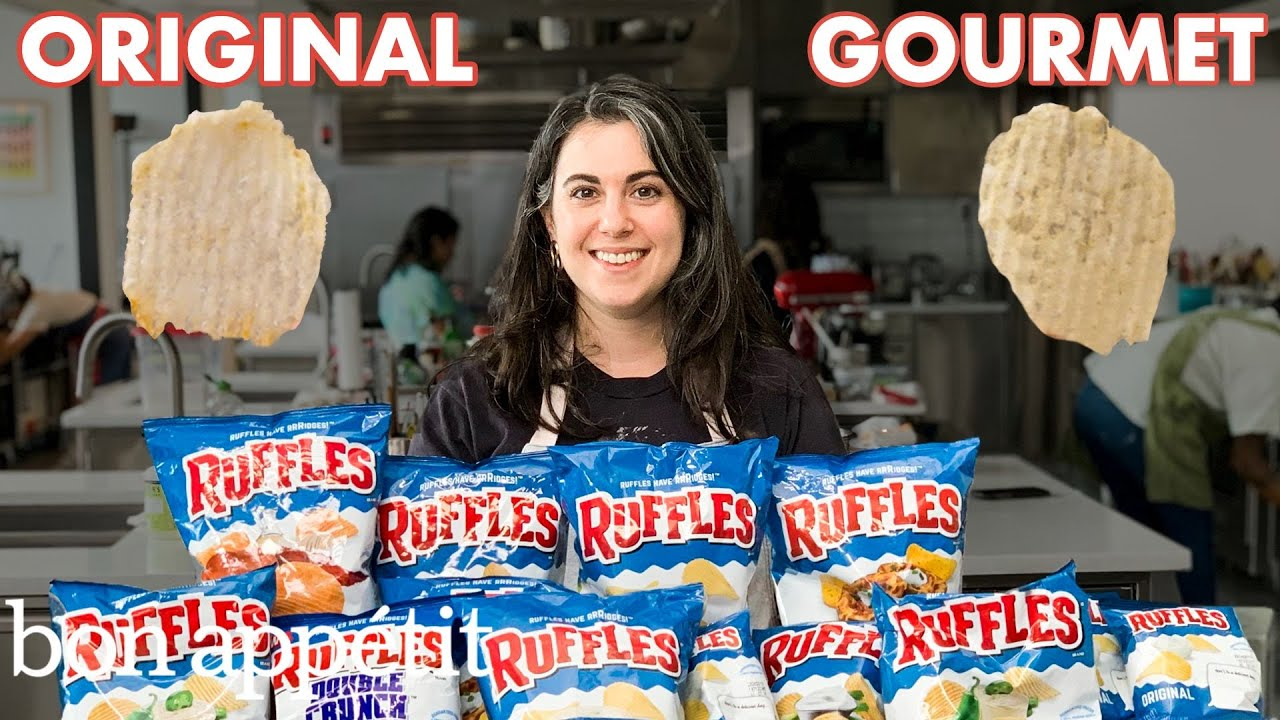 Pastry Chef Attempts to Make Gourmet Ruffles | Gourmet Makes | Bon Appétit image