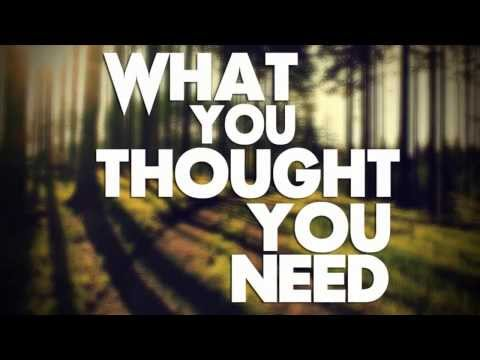 What You Thought You Need - Jack Johnson - Lyrics
