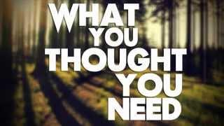 What You Thought You Need - Jack Johnson - Lyrics