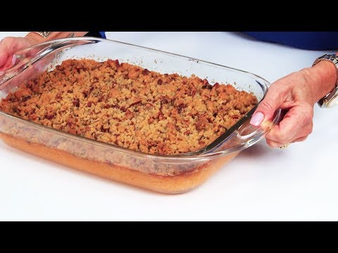 This Sweet Potato Casserole Has An Incredible Praline Topping | Southern Living