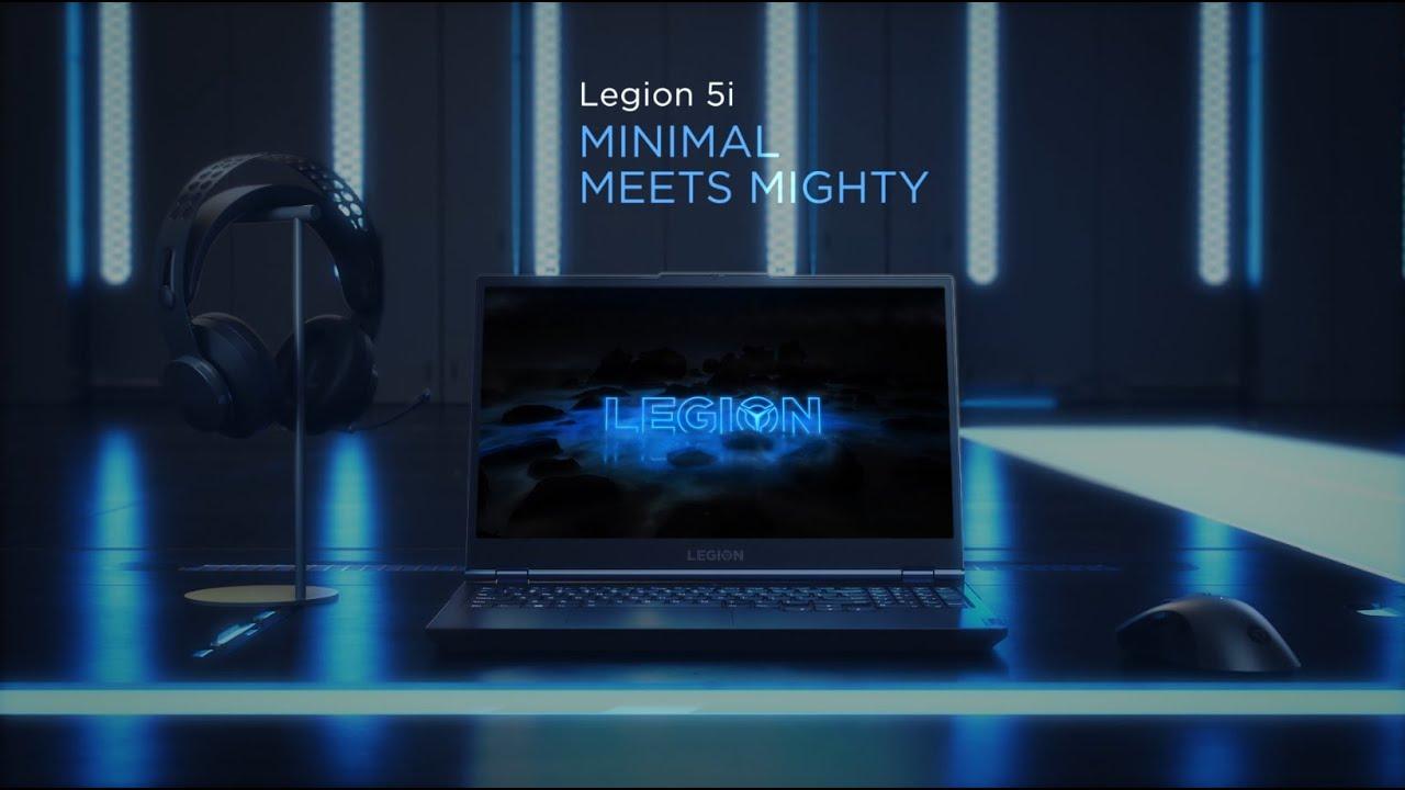 Lenovo Legion 5i - Minimal Meets Mighty