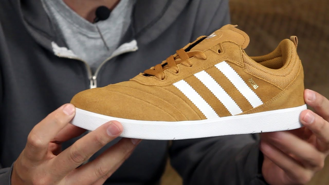 20ed3d14908 Adidas Suciu ADV Skate Shoes Review - Tactics.com - YouTube