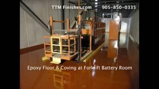 concrete epoxy floors toronto experts ttm finishes 905 850 0335