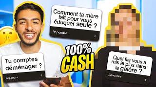 MA MÈRE RÉPOND À VOS QUESTIONS (100% CASH)
