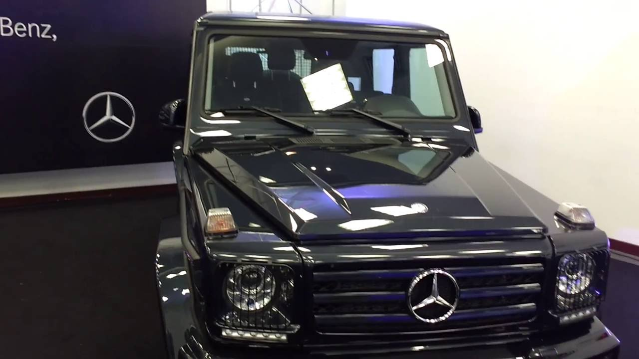 Mercedes Benz Clase G >> Mercedez Benz Clase G 500 2017 - YouTube