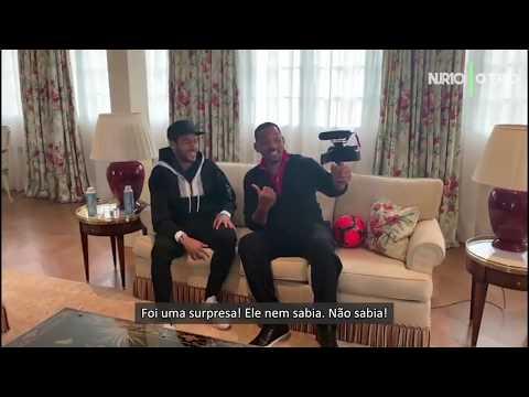 Half Time Bastidores - Neymar Jr x Will Smith | Neymar Jr 10