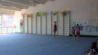 Спортивная Акробатика. Открытый чемпионат г. Луцка. 2015. Женская группа 12-18 лет.
