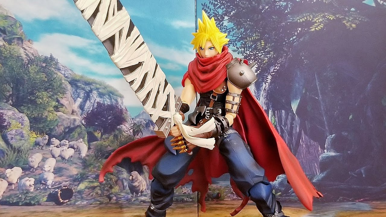 Cloud Strife Another Form Variant Bring Arts Action Figure *NEW* Final Fantasy