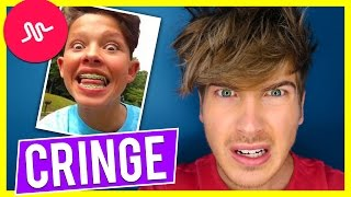 REACTING TO CRINGY MUSICAL.LY'S!