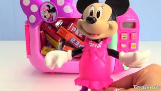 Muppets Disney Junior Pez Candy Learn Counting with Minnie Magical Microwave