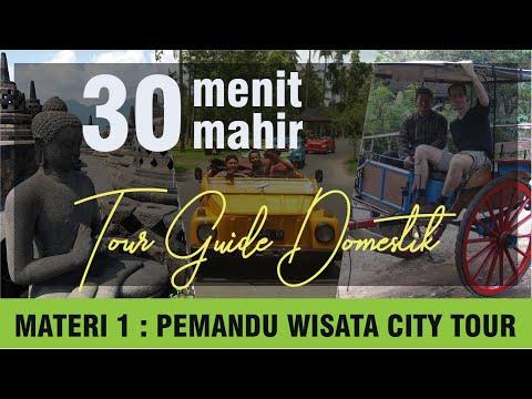 Bongkar Rahasia Cara Pemandu Wisata City Tour Tamu Domestik ( Sesi 1 )
