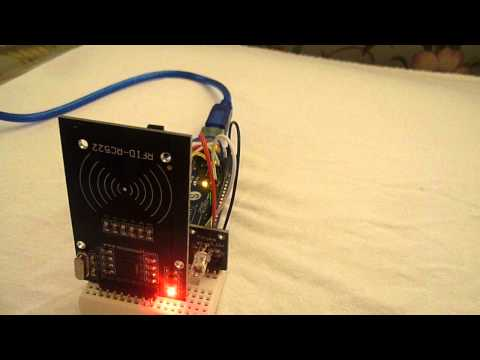 Arduino RFID Access Control System - YouTube