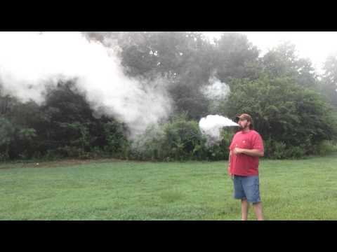 Cloud chasing with dual 22 gauge parallels.