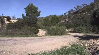 Hayden Paddon spins at SS7 WRC Catalunya 2014
