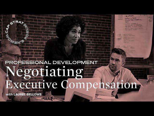 Negotiating Executive Compensation