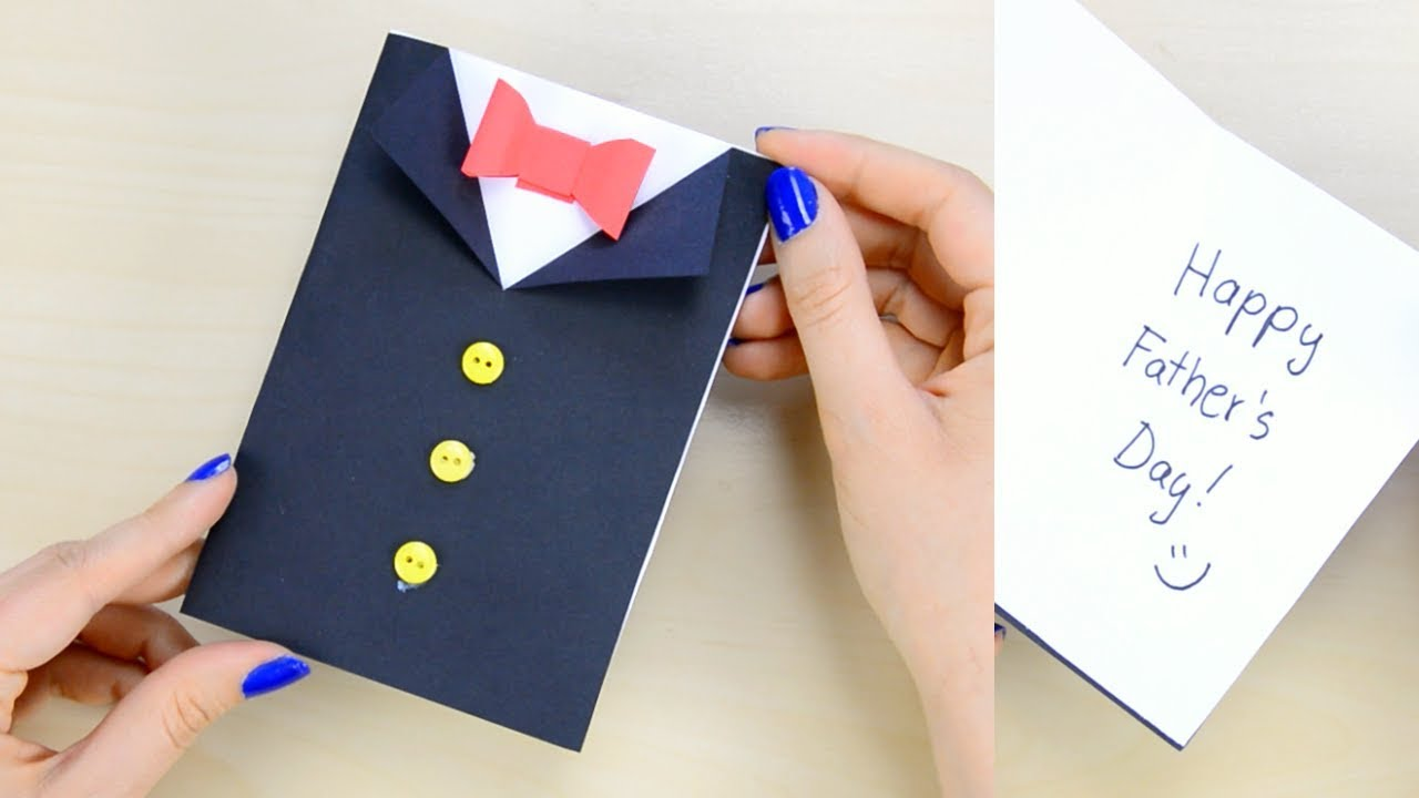 fathers day tuxedo card how to make s day tuxedo card paper crafts for 4451
