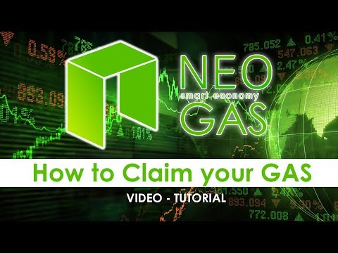 Tutorial: How To Claim Your NEO/GAS