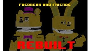 FNAF ROBLOX EPISODE 5| Becoming Fredbear