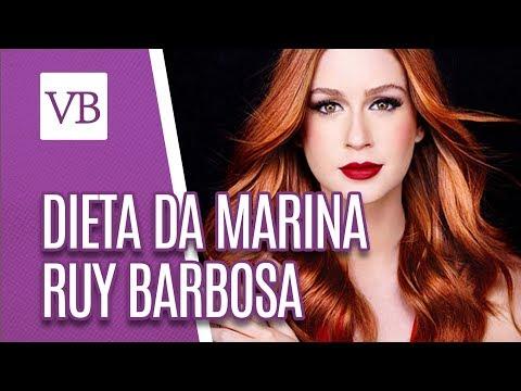 Dieta da Marina Ruy Barbosa - Você Bonita (06/07/18)
