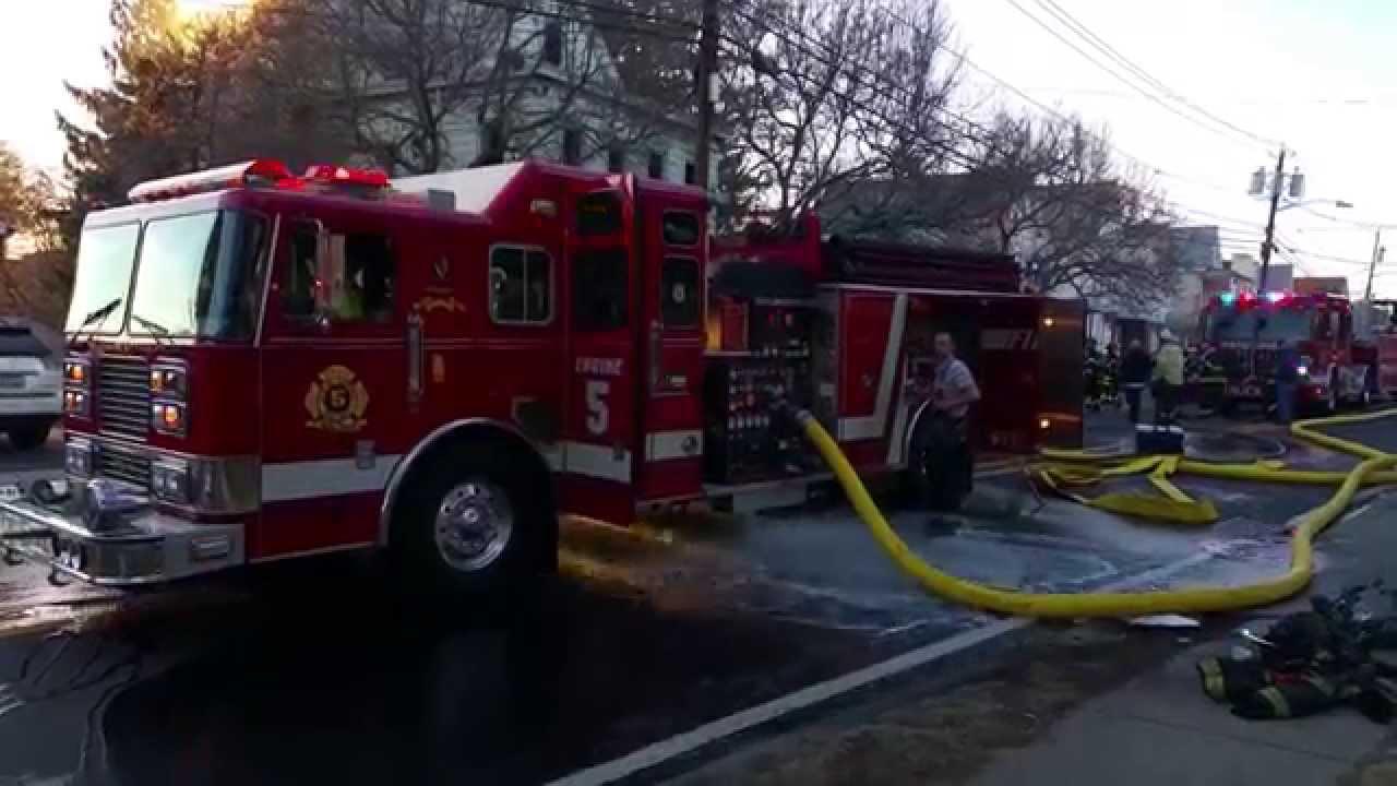 Garfield Nj 2nd Alarm House Fire River Rd 3 29 15 Youtube