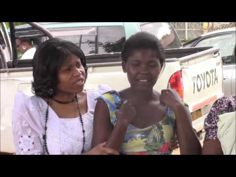 COLIM in Zimbabwe - Woman receiving her healing after 22 years