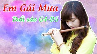 Em gái mưa- Sáo Trúc Ngọc Lâm    Full HD-   Hương Tràm