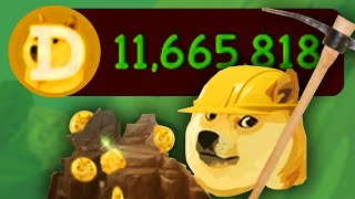 I Made Myself Rich With Dogecoins Just Because I Could in Dogeminer 2