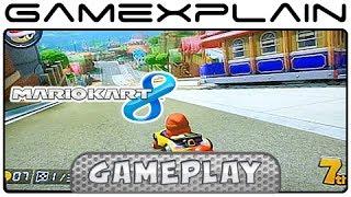 Mario Kart 8: Toad Harbor Gameplay w/ Direct Audio (Wii U)