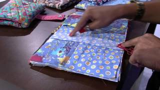 Néia Rocha – Estojo escolar patchwork
