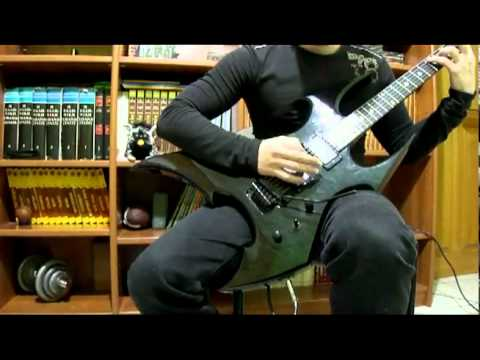 Bc Rich Beast NT with Seymour Duncan Blackouts review by TMTMS (world first)
