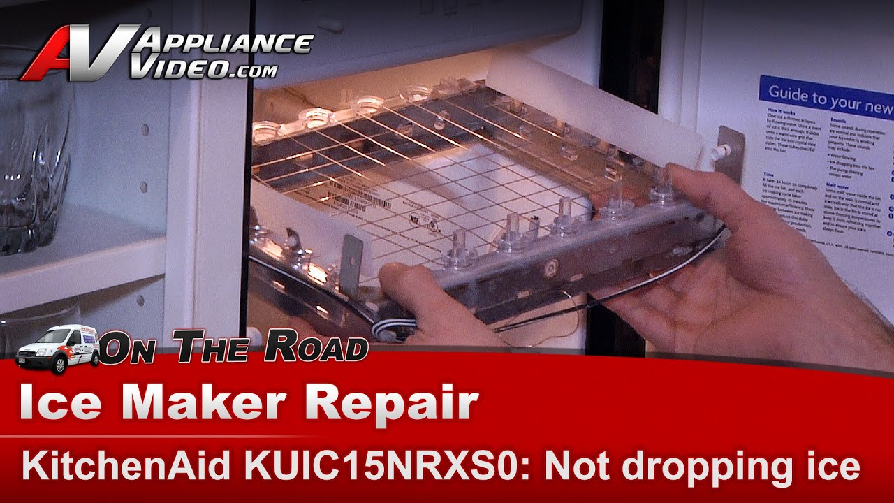 KitchenAid - Whirlpool IceMaker not producing or dropping ice cubes  -KUIC15NRXS0_DR