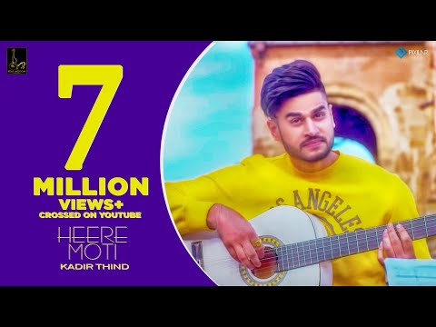 Heere Moti (Official Video) : Kadir Thind | Desi Routz | Latest Punjabi Songs 2018