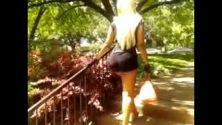 BuffieDaBarbie Sexy thick Model cought up unexpected at tx rose#2 #YouTube